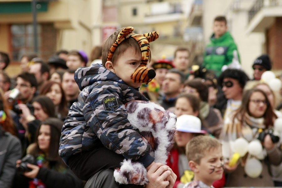 С деца на карнавал/With children at carnival