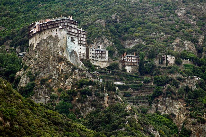 Света гора/Mount Athos
