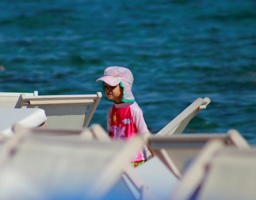 С деца на море/With children at the seaside